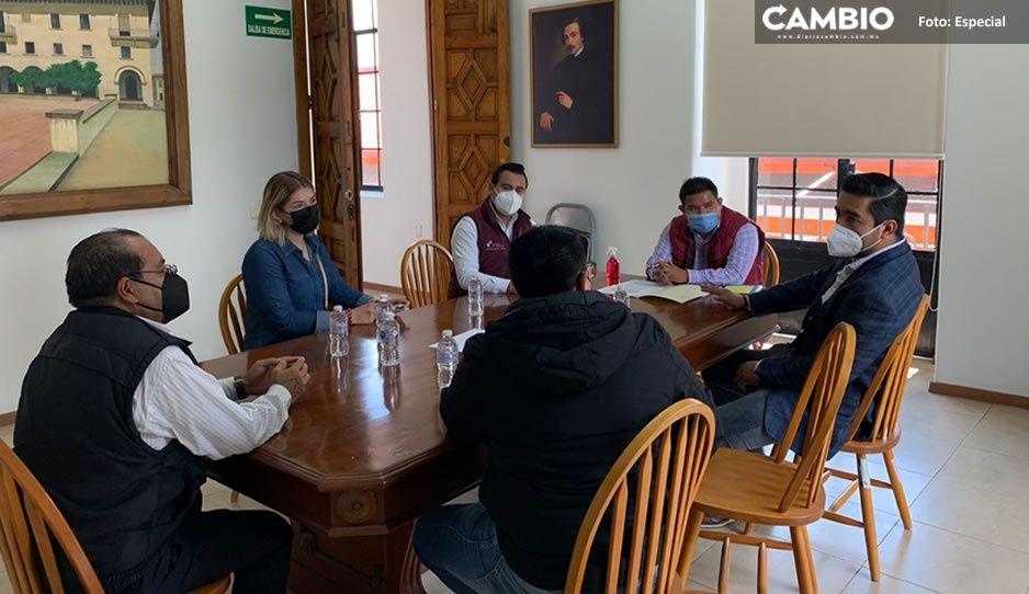Secretaría de Gobernación de Puebla y Ayuntamiento de Teziutlán signan acuerdo