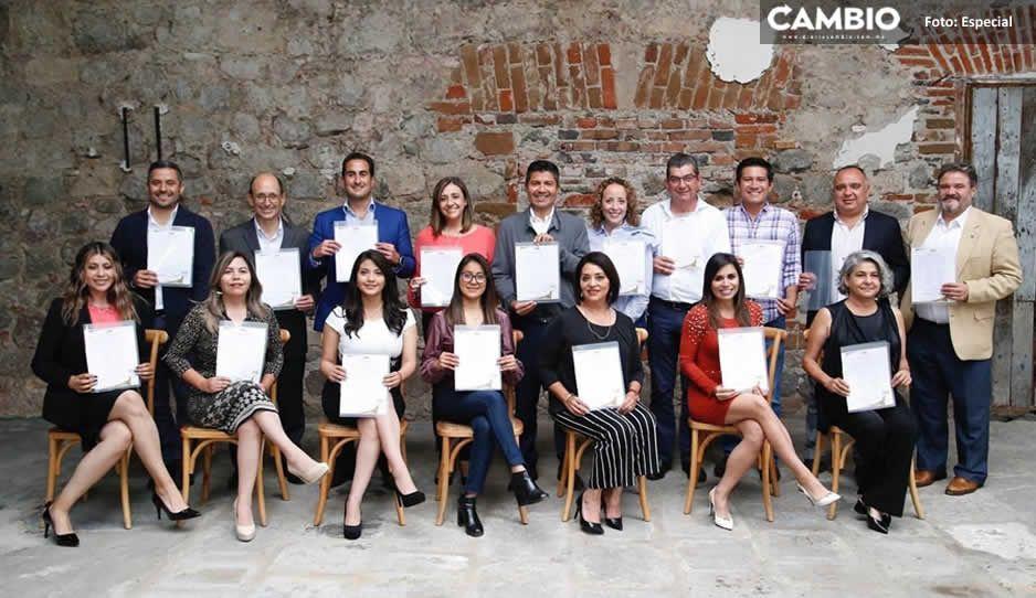 Lalo Rivera se reúne con los 16 regidores que conformarán su administración