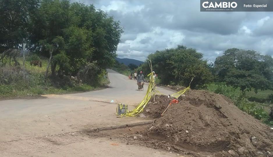 Joven muere por obra inconclusa en Huaquechula; familiares exigen justicia