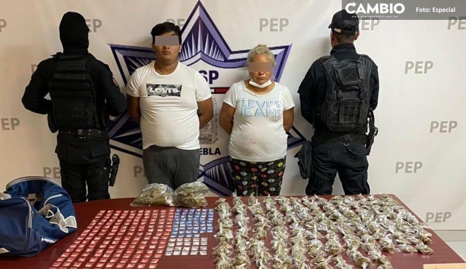 Cae La Doña con droga, operadora de la banda de La Patrona en Analco