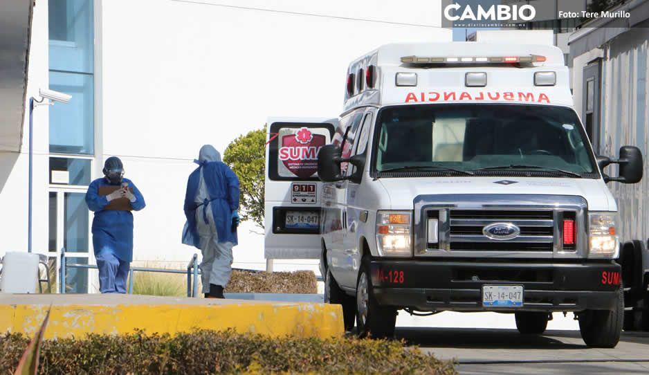 Por segunda semana, Puebla es el estado con mayor ocupación hospitalaria del país por COVID