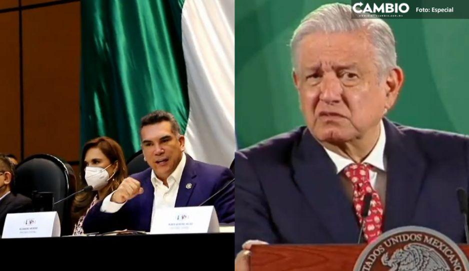 """AMLO critica amenazas de PRI a Quirino Ordaz por invitarlo a cancillería en España: """"Es inmoral e indigno"""""""