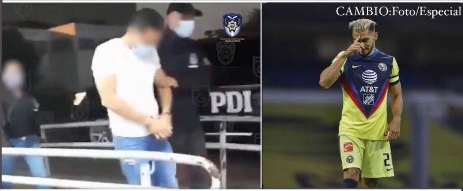 VIDEO: Así detuvieron al hermano de Henry Martín, jugador del América; lo acusan de violación