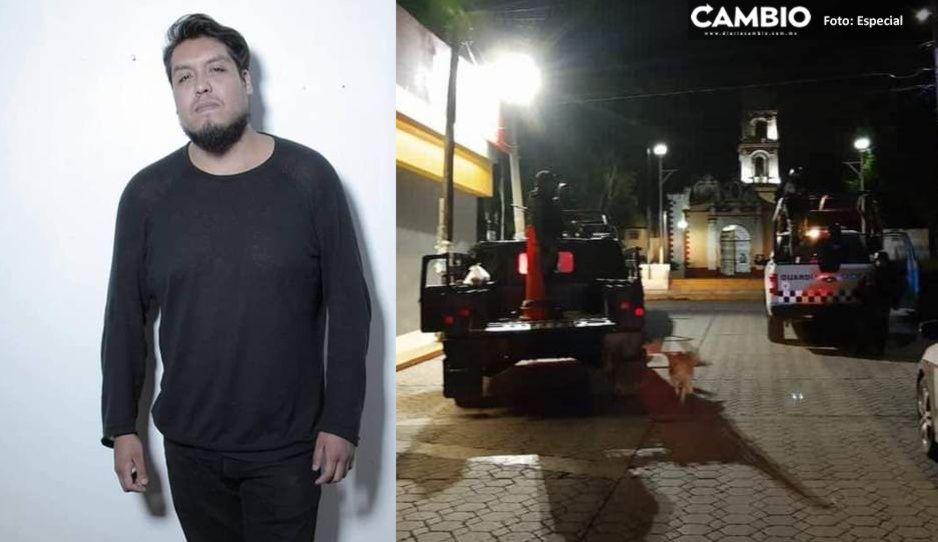 Exigen justicia para Juan Carlos: policías de San Miguel Xoxtla lo golpearon hasta matarlo