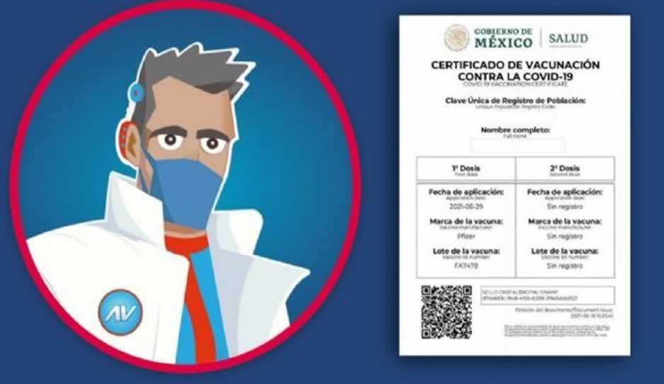 ¡Conoce a Armando Vaccuno! Con él puedes conseguir tu certificado de vacunación COVID