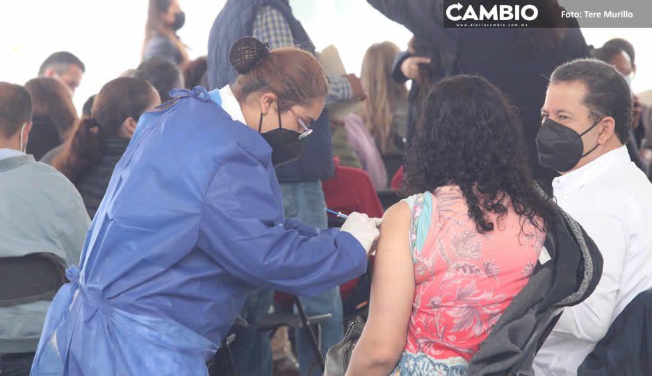 Este viernes arranca jornada masiva de vacunación en zona conurbada de Puebla (FOTOS Y VIDEO)