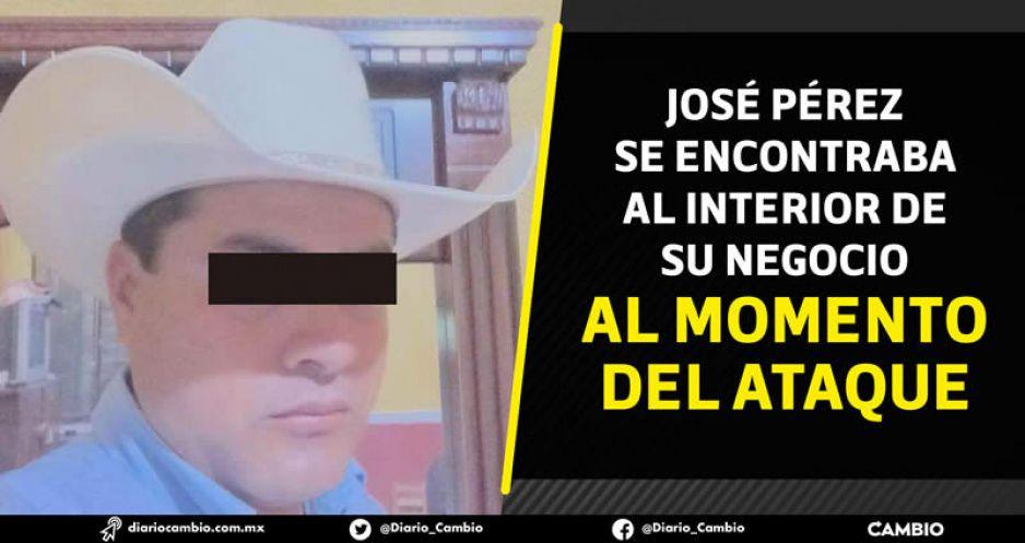 A balazos, matan a líder cañero y ex funcionario municipal de Chietla