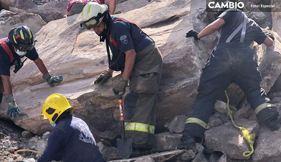 Rescatan cadáver de menor en el cerro del Chiquihuite