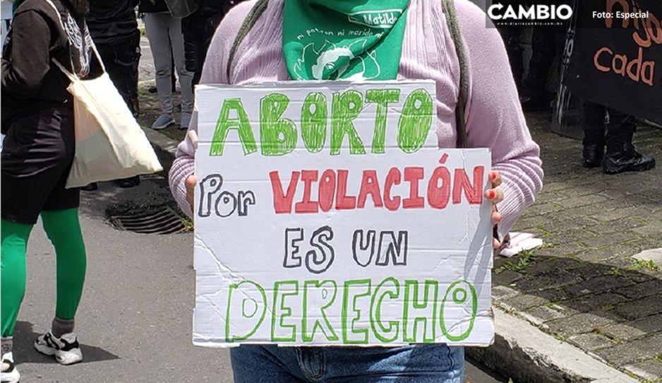 ¿Y Puebla cuándo? CDMX aprueba aborto hasta los 5 meses por violación