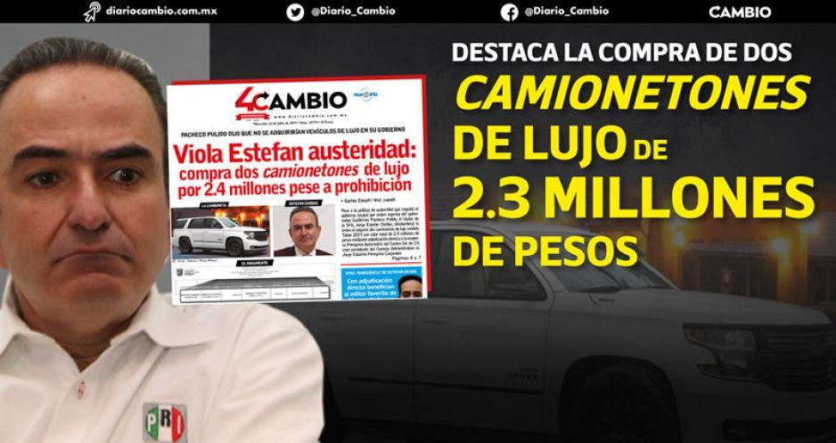 Halla ASE irregularidades por 2.1 mil millones en el paso de Estefan por Finanzas en el interinato