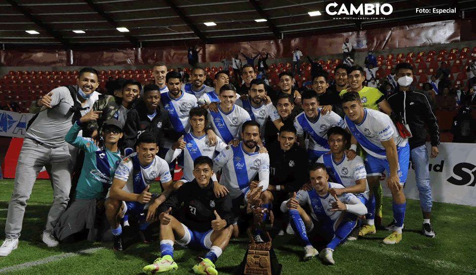 ¡Puebla está para campeón! Gana la Copa Tlahuicole a los Coyotes de Tlaxcala