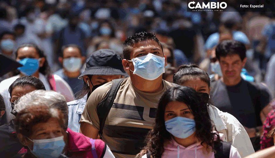 México registra 192 nuevas muertes y 3 mil 754 nuevos contagios por COVID