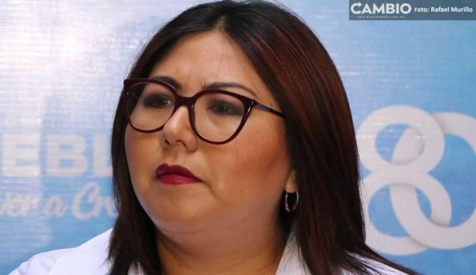 Genoveva ya piensa en las elecciones de 2024: buscará la alcaldía de Puebla