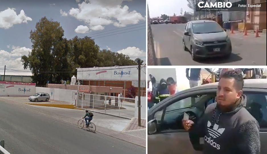 ¿Ya se va Bonafont de Puebla? trabajadores sacan coches y motos de la planta (VIDEO)