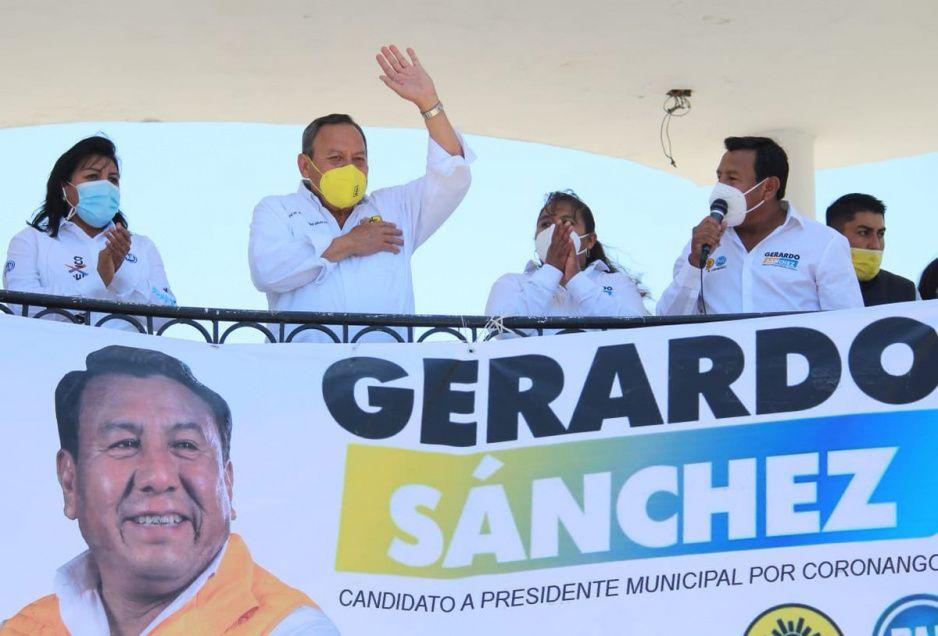 TEEP amonesta a Gerardo Sánchez por acreditarse aparición de menores en su propaganda