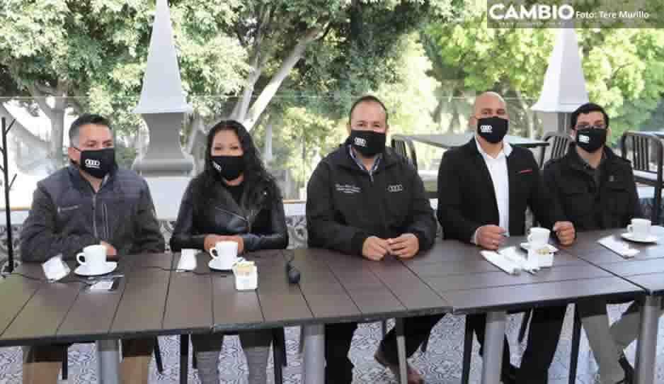 ¡Trato VIP! Sindicato de Audi quiere que gobierno pague caseta a Amozoc (VIDEO)