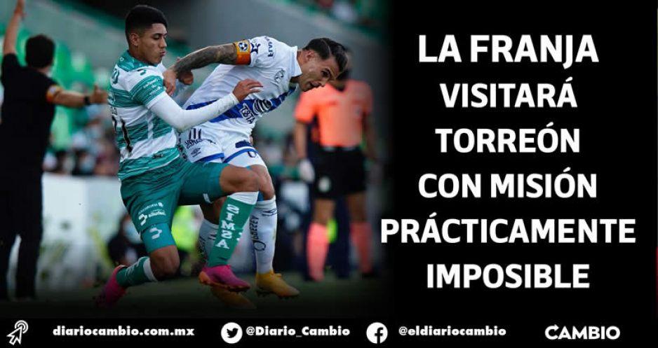 Club Puebla buscará mantener su racha sin derrotas ante Santos