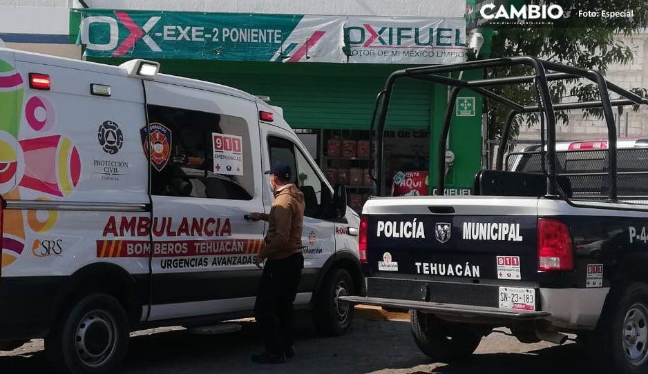 Ladrones encañonan a empleados y atracan Oxifuel de Tehuacán