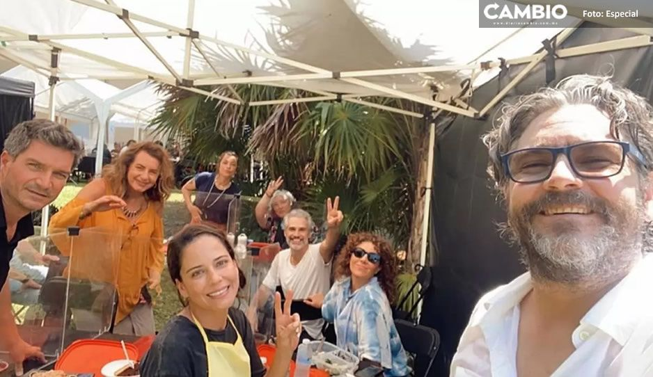 ¡Fan de todo lo que nos pasó! Claudia Talancón se reúne con elenco de Soy tu fan (VIDEO)