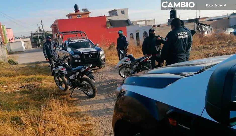 En Tlalancaleca incrementan los índices delictivos en el primer semestre del 2021