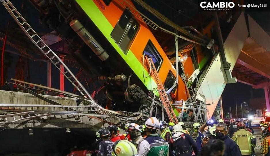 ¡No aparece por ningún lado! Siguen extraviados cinco pasajeros tras desplome del Metro