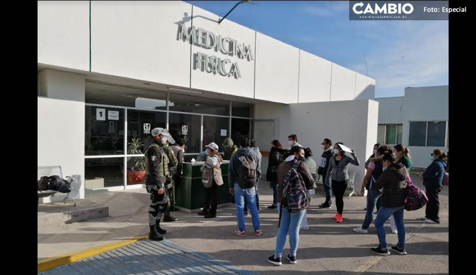 Las 630 dosis que llegaron esta mañana a Tehuacán ya están siendo aplicadas a personal médico