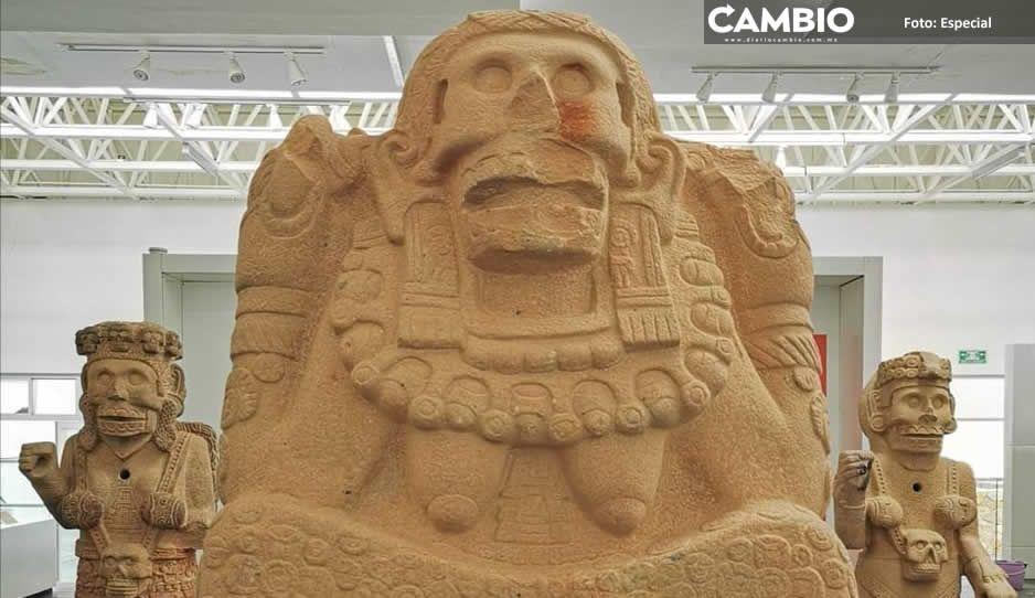 ¡No sirvieron los bloqueos! INAH se lleva cuatro piezas del Museo de Sitio de Tehuacán