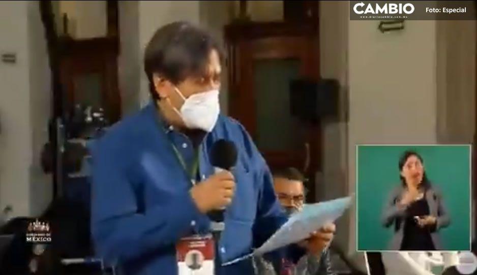 VIDEO: Así fue como Julio Astillero desenmascaró a Vilchis en la mañanera