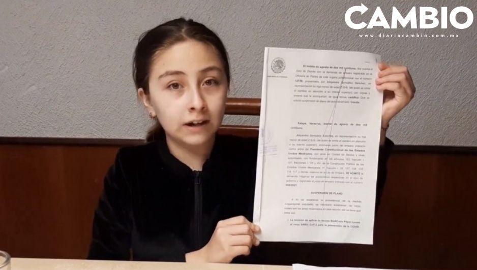El padre de Zulma, la niña que padece diabetes y quiere vacunarse, le responde a AMLO