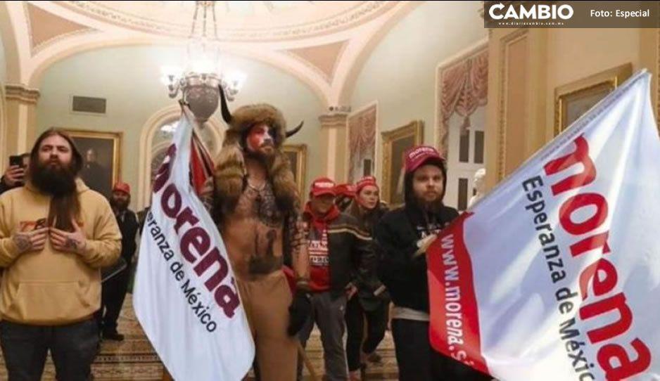 Mexicanos desatan la memiza tras la toma del Capitolio en Estados Unidos