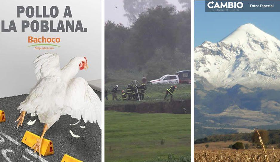 Poblanos, burla nacional gracias la Ciclopista de la muerte, Socavón y ahora el Pico de Orizaba