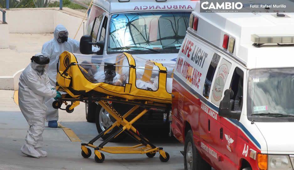 En sólo 8 días se internaron a 310  pacientes en hospitales poblanos