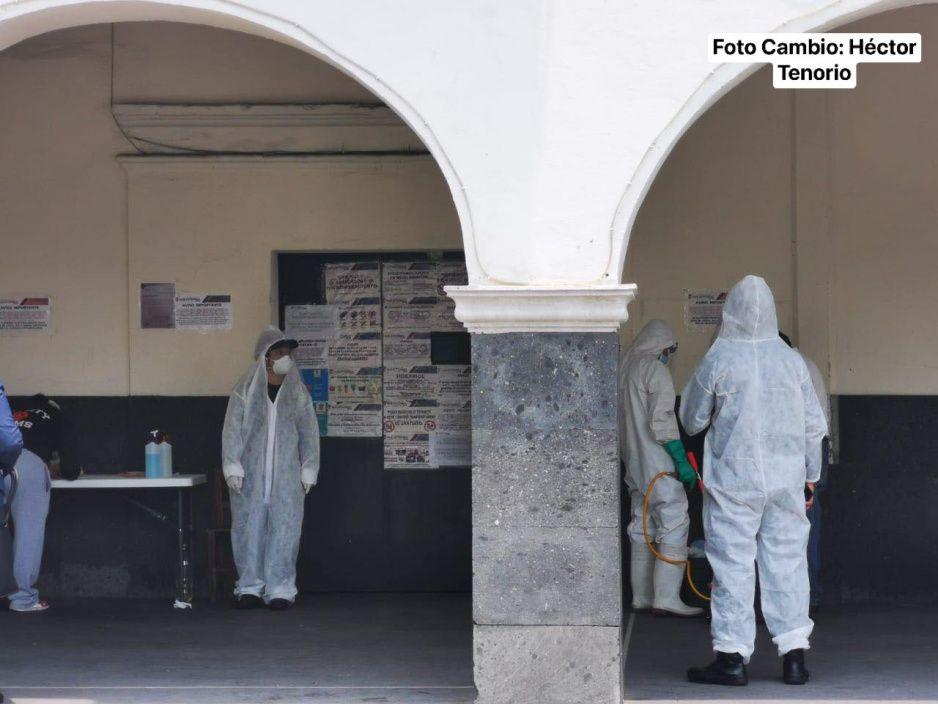 Pánico en el penal de Huejotzingo: reos se enferman de tos y fiebre, temen que sea COVID