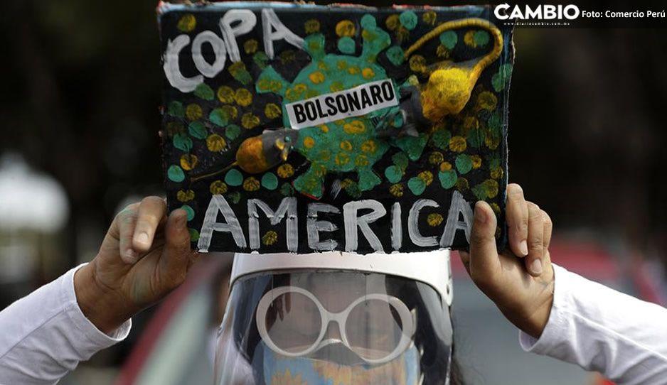 Copa América suma 41 casos positivos de covid y apenas empezó el domingo