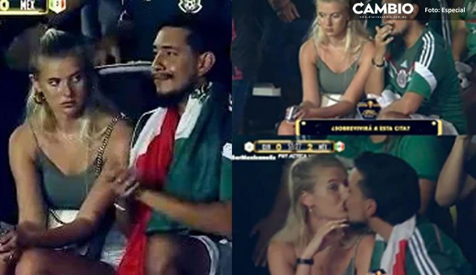 Revive el amor de Toluco y su novia gringa por el partido de México vs Estados Unidos ¡Aquí su historia!