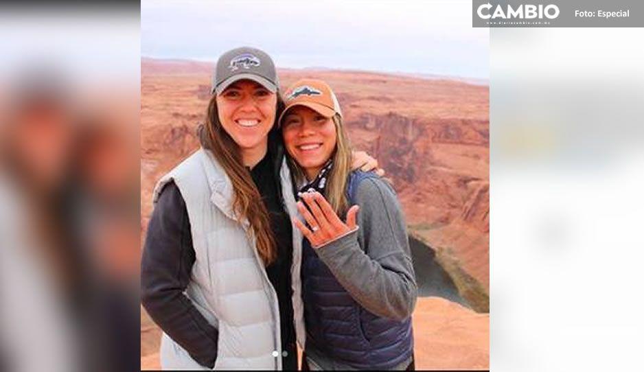 Comprometidas pero rivales en Tokio 2020; Anissa Urtez se enfrenta vs su pareja Amanda Chidester
