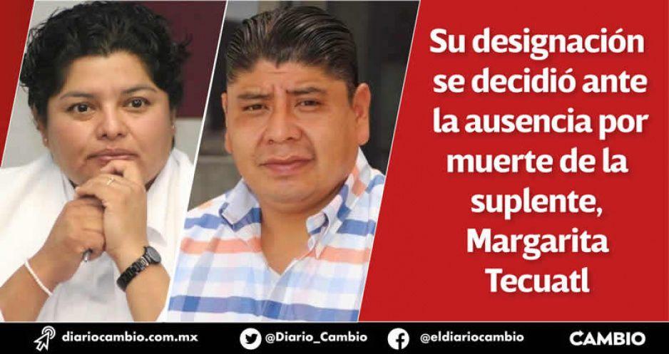 Roberto Maxil es el edil suplente de San Andrés mientras Karina busca reelegirse