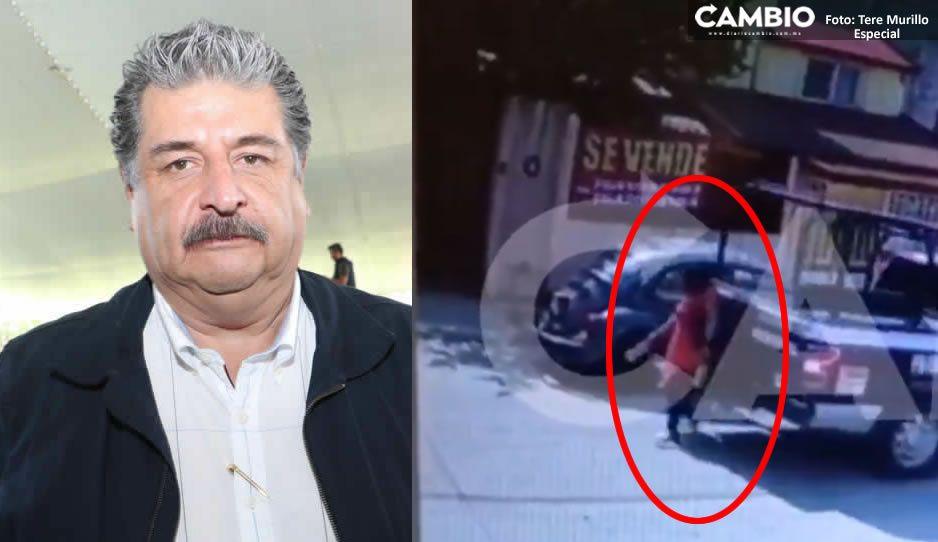 Ecoloco Vargas NO da la cara a familiares de la maestra atropellada por un policía en Huauchinango