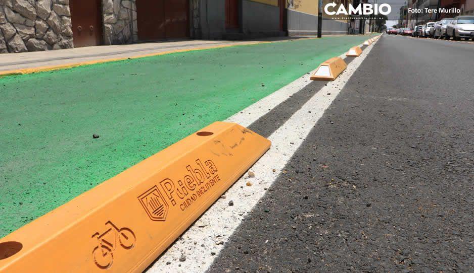 Claudia y Covián eligieron a empresa de calentadores solares para hacer ciclovías (FOTOS Y VIDEO)