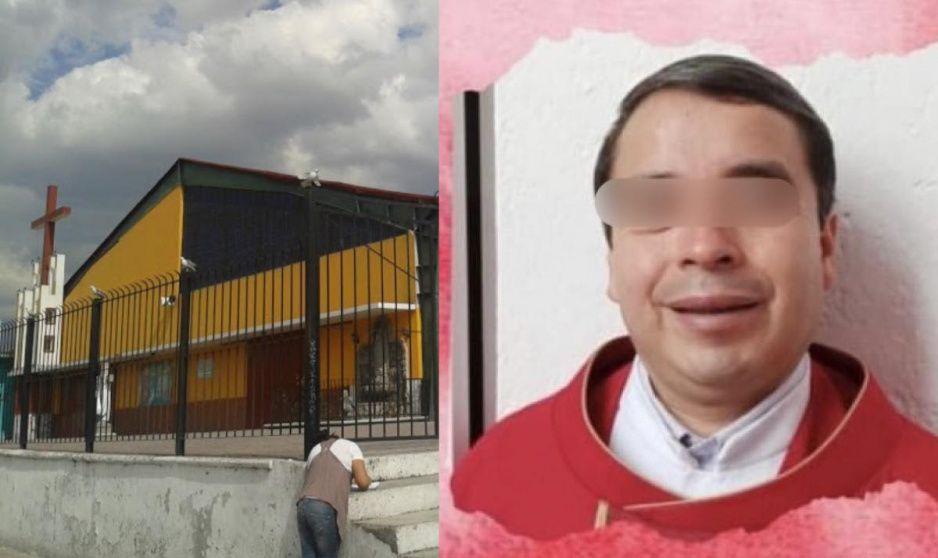 Padrecito Marcelino de la Manuel Rivera Anaya secuestra a mujer en la parroquia (VIDEO)