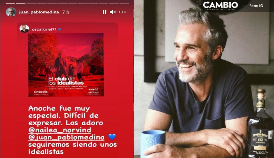 Reaparece Juan Pablo Medina tras sufrir una terrible trombosis