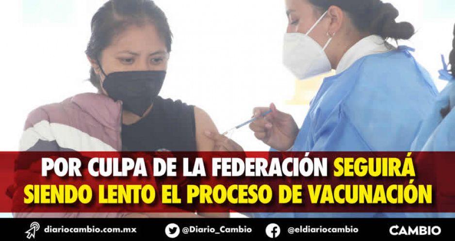 Olvida AMLO a Puebla en el Plan Nacional para Reforzar Vacunación (VIDEO)