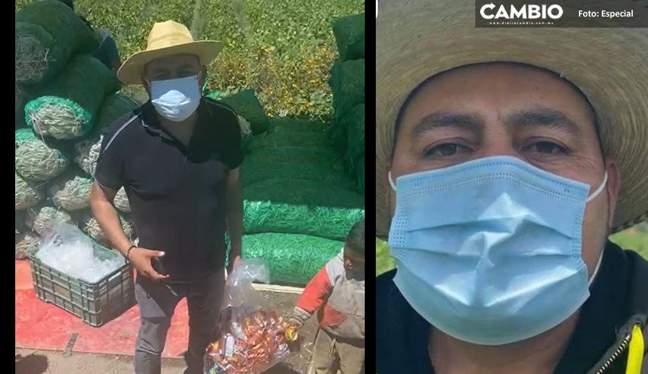 El Toñín vuelve a desafiar a la Fiscalía; permanece atrincherado en Palmarito (VIDEO)