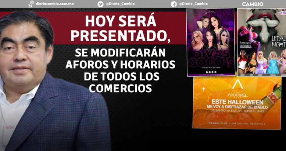 Reapertura económica total con nuevo decreto, perfila Barbosa: incluiría vida nocturna (VIDEOS)