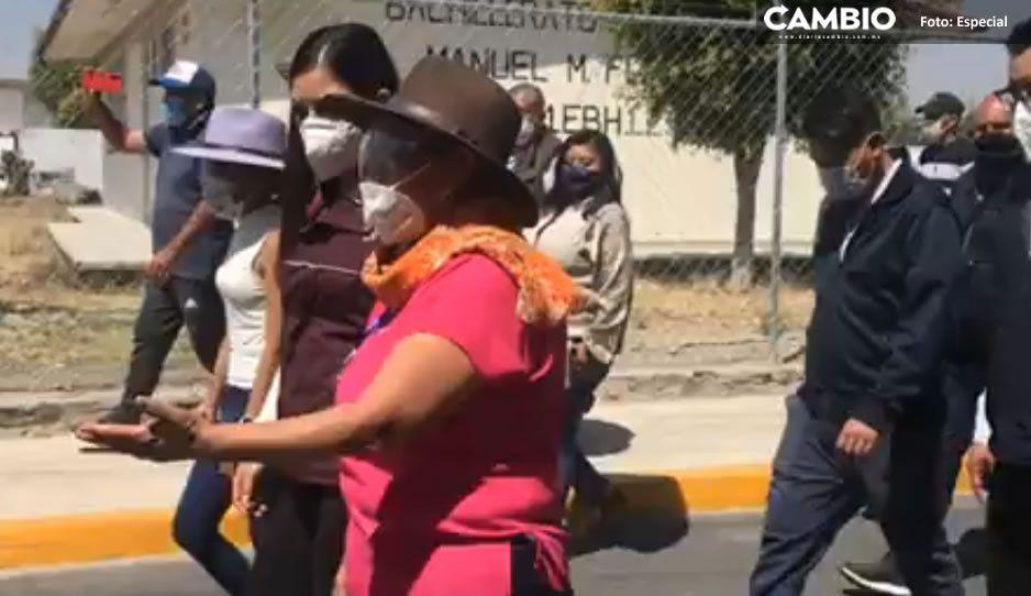 Antorcha Campesina rompe con el PRI y se exhibe al lado de Claudia (VIDEO)