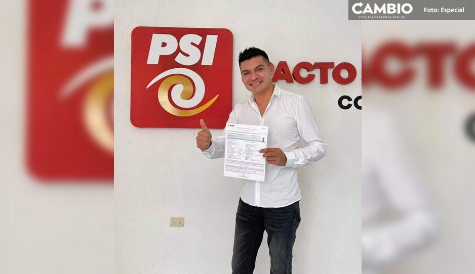 Alejandro Martínez, hermano de Antonio N. va por la reelección de Quecholac