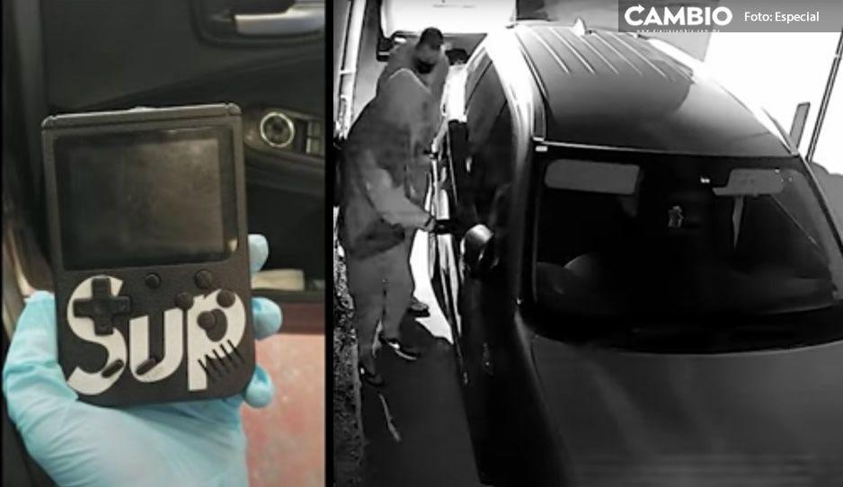 ¡Cuidado! Ladrones usan dispositivo similar a 'Game Boy' para robar autos en segundos (VIDEO)