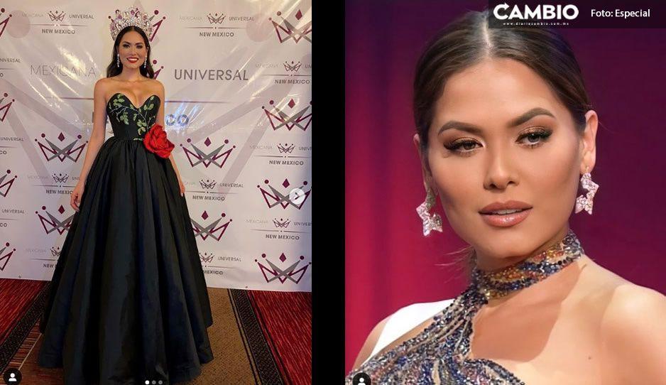 Andrea Meza, la Miss Universo mexicana posa sin gota de maquillaje (FOTOS)