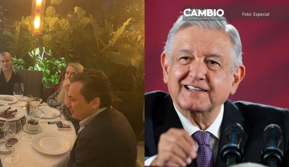 Inmoral e imprudente la aparición de Lozoya en restaurante de lujo: AMLO (VIDEO)