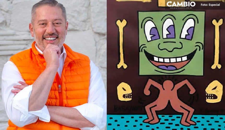 Excandidato de MC en Cholula pidió hasta 6 millones de dólares por obra de arte pirata